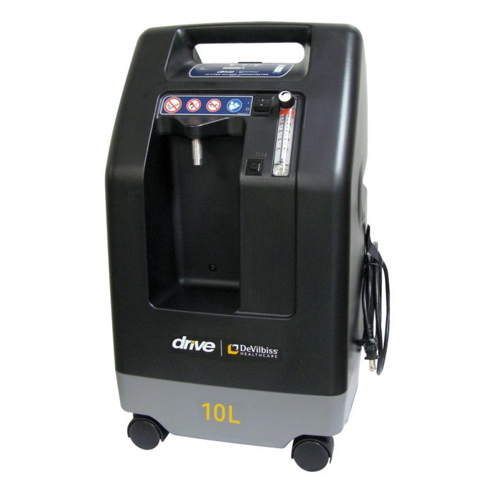 Devilbiss Oxygen Concentrator Front View