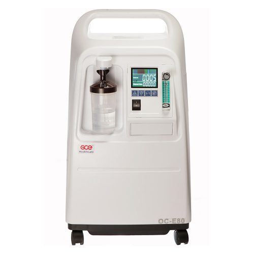 GCE Oxygen concentrator front view