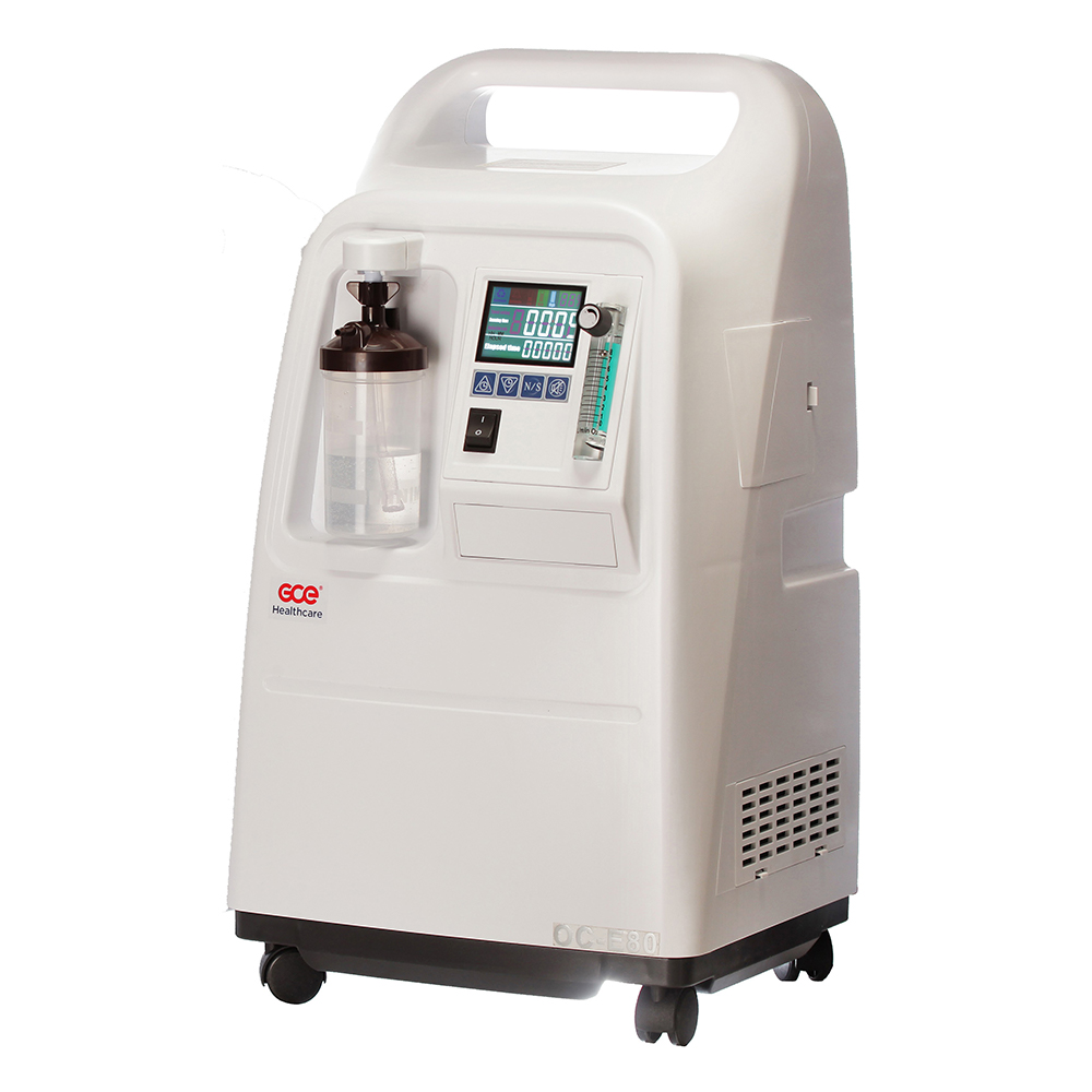 GCE Oxygen concentrator Side view