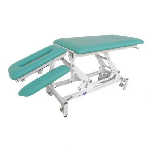 Medi-Plinth Physio+ 4 Section Tilted Arms Lowered