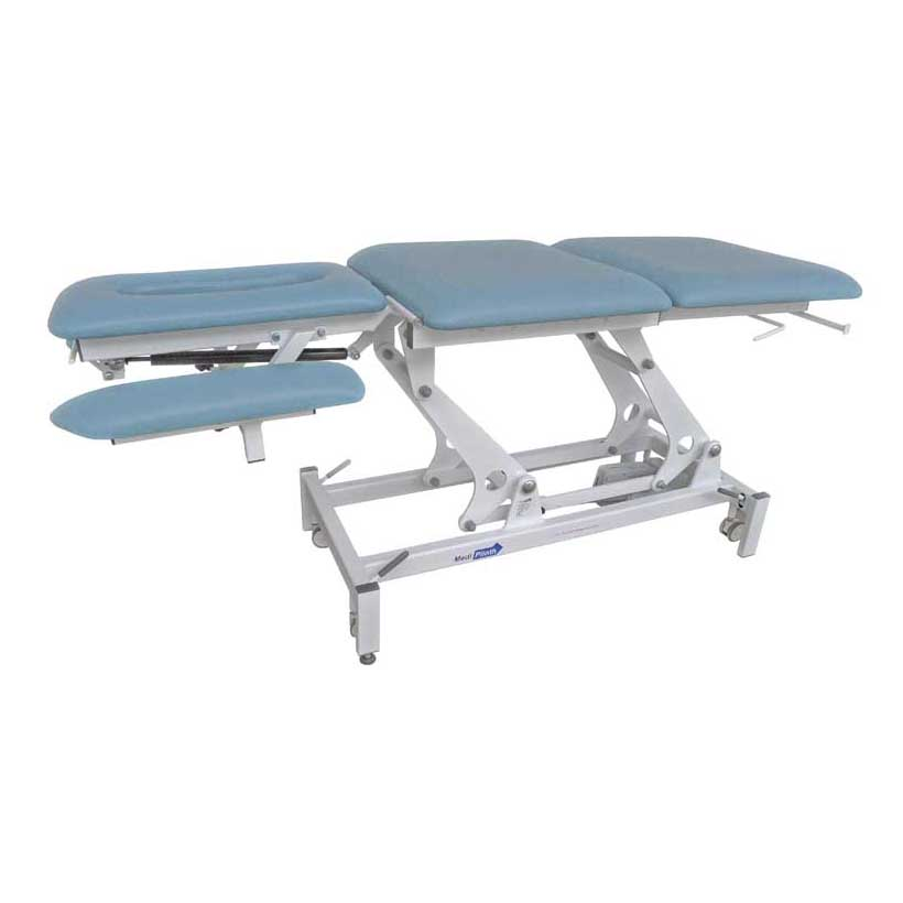Medi-Plinth Physio+ 5 Section Raised Flat Low Arms