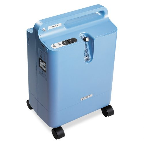 Philips Everflo Oxygen Concentrator Left view